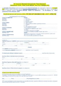 CPB - scheda d'iscrizione