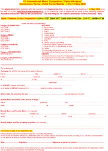CPB - scheda d'iscrizione - application form